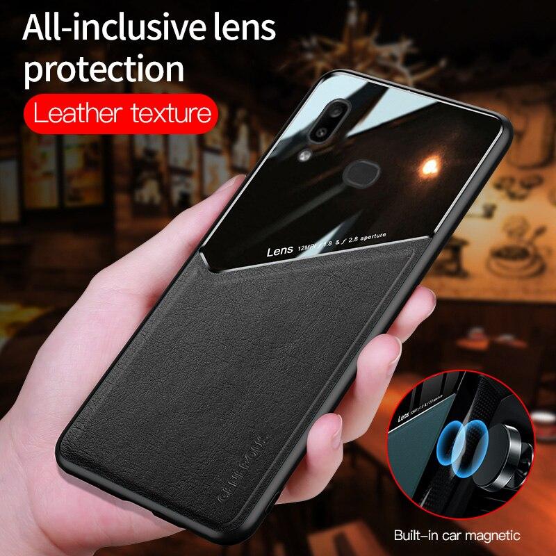 Voor Huawei P30 P20 P40 Lite Pro Plus Case Magnetische Leather Telefoon Cover Mate 10 20 30 40 Pro Nova 5T 3 3i 7 Se Harde Siliconen Case