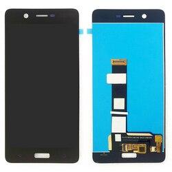 """100% oryginalny lcd ekrany do Nokia 5 N5 TA 1024 1027 1044 1053 5.2 """"czarny wyświetlacz ekran dotykowy Digitizer wymiana ekranu w Ekrany LCD do tel. komórkowych od Telefony komórkowe i telekomunikacja na"""
