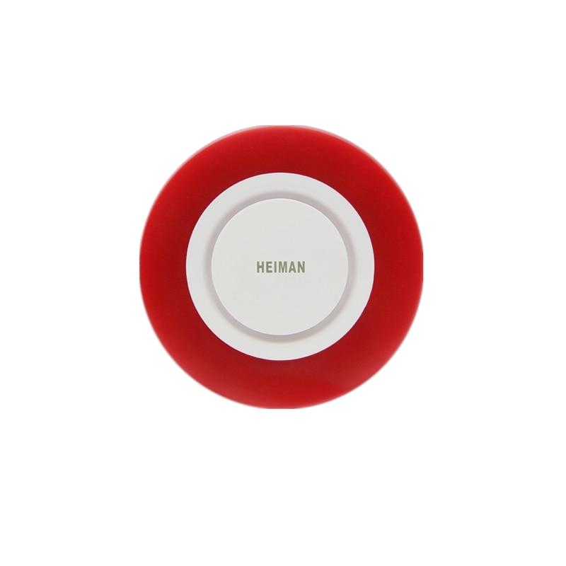 H7ac6413b596743158a0ab3f73437b2b3t - Heiman Nice Design Zwave Strobe flash Siren 95DB big sounds Alarm With EU or US Plug for option