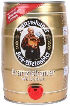 Cerveza Franziskaner Lata 5L