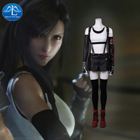 Manluyunxiao Final Fantasy VII Remake Tifa Lockhart Game Costume Women Cosplay Halloween Clothes Customize for women