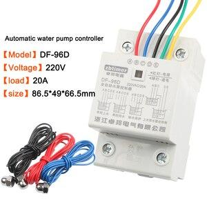 Image 3 - DF 96ED 자동 수위 컨트롤러 스위치 10a 220 v 물 탱크 액체 레벨 감지 센서 워터 펌프 컨트롤러 2m 전선