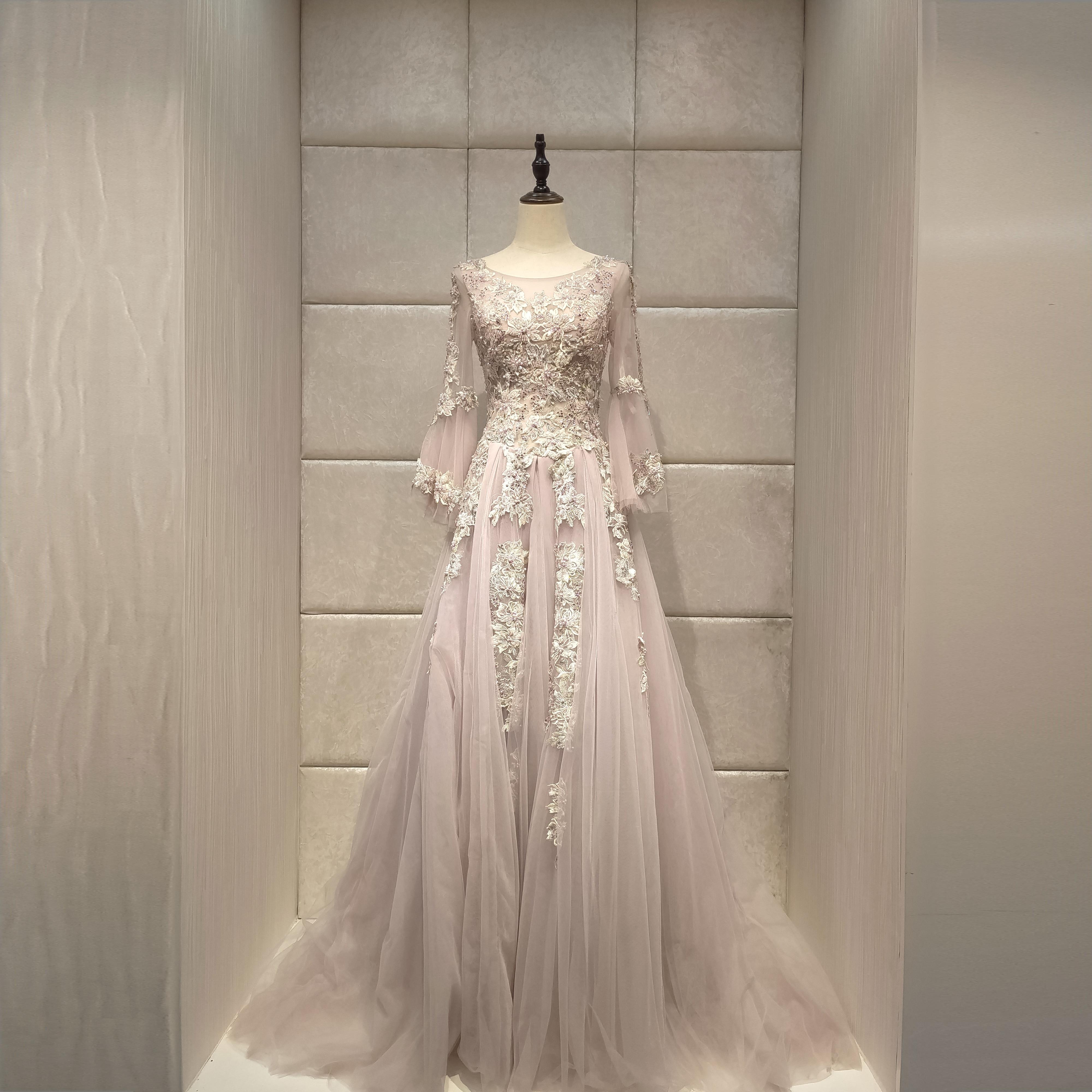 US $18.18 18% OFFElegant Princess evening dresses 18new vestido de  noiva abendkleider robe de soiree long dressEvening Dresses - AliExpress