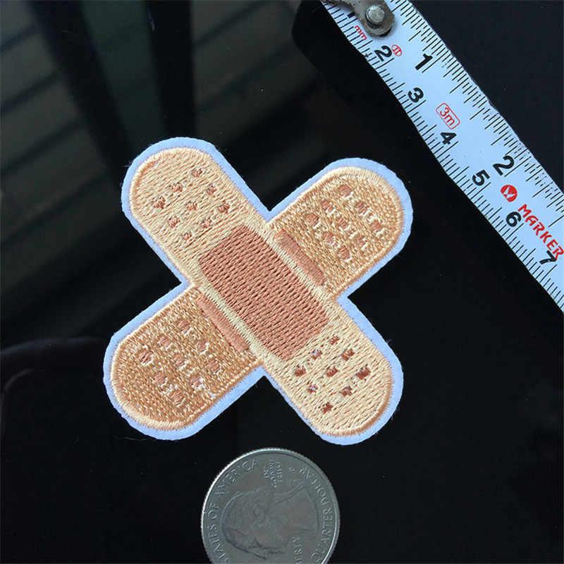 Bandagem Remendo do Bordado para a Roupa Engomar sobre Adesivos de Costura Remendo Applique para Jaqueta Motociclista Jeans Sapatos Mochila Emblemas