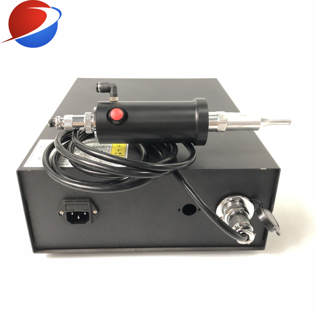 N95 Cup Mask Ear Strap Spot Welding Machine Ultrasonic Welding Equipment Transducer And Generator 35K 800W 1