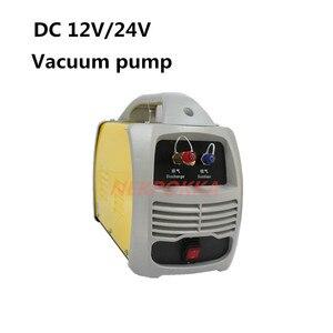Автомобильный вакуумный насос для кондиционера, DC 12 В 24 В, вакуумный насос для охлаждения