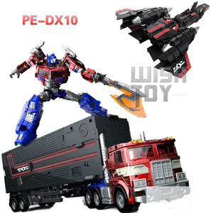 Image 1 - Sybertan Empire Transformation PerfectEffect PE DX10 Flying Wing Jet Power Revive Prime Action Figure Robot Kids Toys Collection