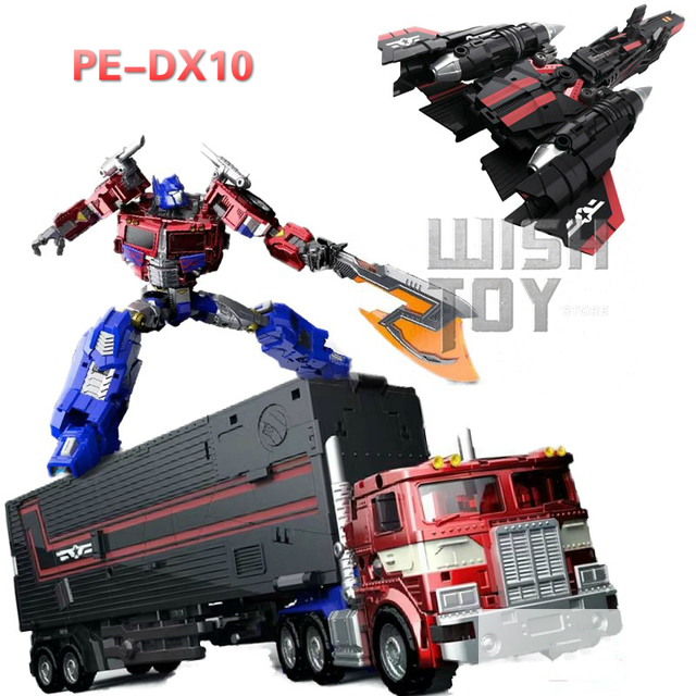 Sybertan Empire Transformation PerfectEffect PE DX10 Flying Wing Jet Power Revive Prime Action Figure Robot Kids Toys Collection
