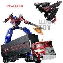 Sybertan Reich Transformation PerfectEffect PE DX10 Fliegen Flügel Jet Power Beleben Prime Action Figure Roboter Kinder Spielzeug Sammlung