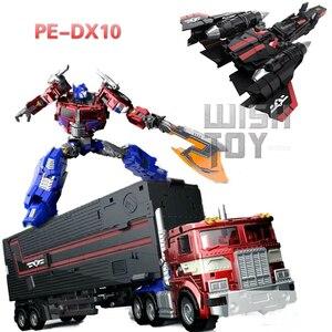 Image 1 - Sybertan İmparatorluğu dönüşüm PerfectEffect PE DX10 uçan kanat Jet güç canlandırmak başbakan aksiyon figürü Robot çocuk oyuncakları koleksiyonu