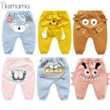 2109 новые модные популярные детские леггинсы для новорожденных девочек Хлопковые Штаны для маленьких мальчиков