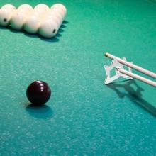 Pole-Rack Stick Head-Holder Snooker-Pool-Frame Rest-Bridge Cue-Enjoyable Aluminum-Billiard