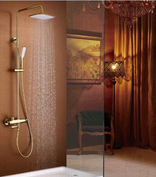 Rain Shower Mixing Tap For Deluxe