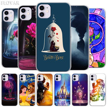 Beauty and The Beast Rose Hard Case for Apple iPhone 11 Pro MAX X XR XS MAX 7 8 Plus 6 6s Plus 5S SE Phone Cover Coque turkey flag hard case for apple iphone 11 pro max x xr xs max 7 8 plus 6 6s plus 5s se phone cover coque