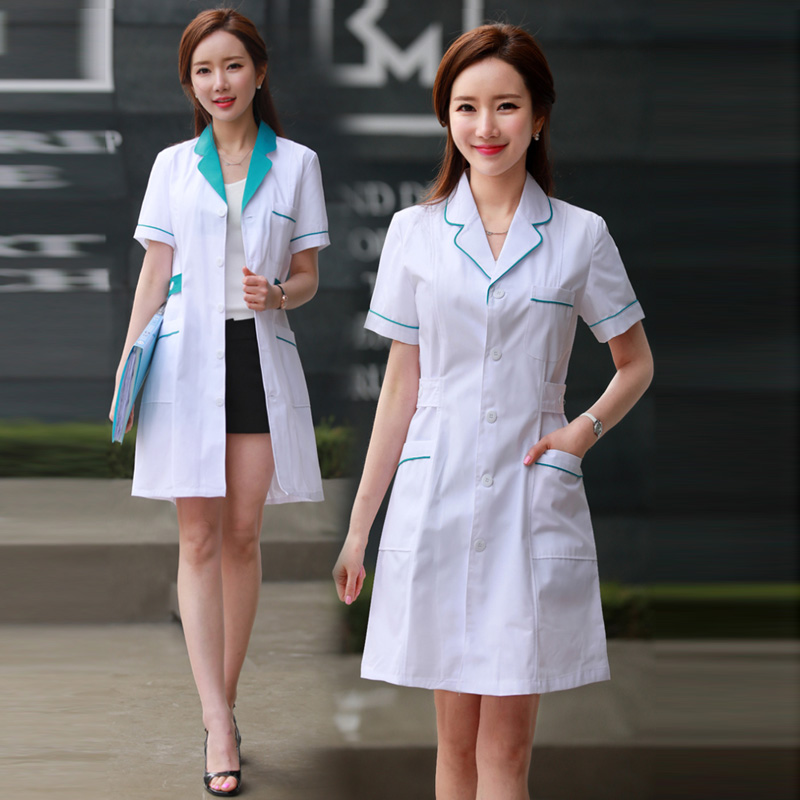 Medical Robe Lab Coat Hospital Male And Female Work Uniforms Korean Cosmetic Surgery Sale Beauty Salon Uniform Pharmacy Clothing