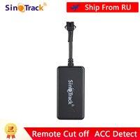 Sinotrack Gps Tracker Gsm Gprs Voertuig Tracking Device Monitor Locator Afstandsbediening ST-901A + Voor Motorfiets Met Gratis App