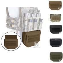 Krydex Tactical Drop Dump Pouch Fanny Pack Voor Plaat Carrier Jpc Avs Cpc Apc Rrv Tactische Vest Tool Organizer Bag voorvak(China)