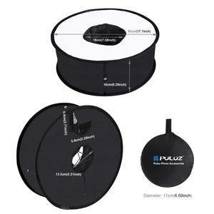 Image 4 - PULUZ difusor de luz de Flash para estudio fotográfico, difusor de luz de Flash redondo Macro y retrato Speedlight 45cm