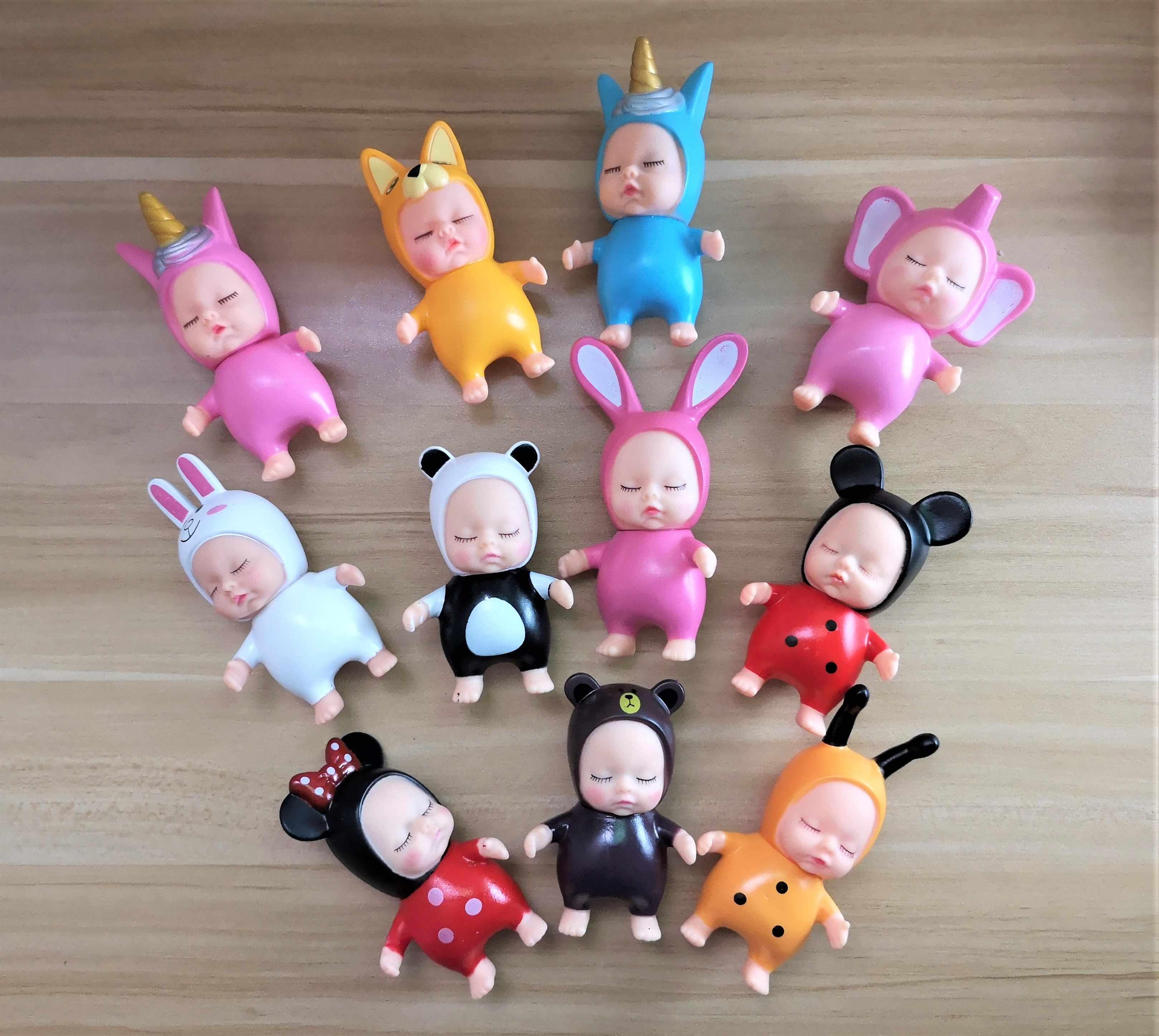חתיכה אחת מיני Reborn תינוק בובות Unicorn באני bee סגנון קריקטורה שינה תינוק אביזרי קטן צעצועי דמות קישוט