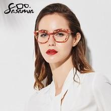 Женские оптические очки SASAMIA, оптические оправы для близорукости из ацетата