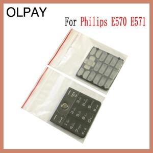 Image 4 - 100% новая Оригинальная клавиатура сотового телефона Philips E570 E571 CTE570 для Philips E570 E571 CTE570