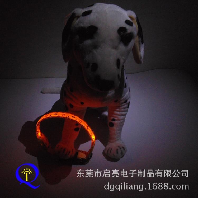 [Hot Sales] LED Pet Collar Pattern Shiny Dog Collar Variety Shining Model Pet Supplies