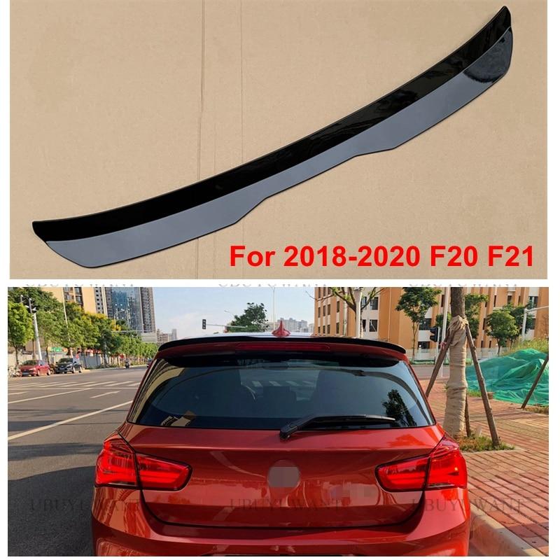 Aileron de lèvre de toit arrière pour 2018-2020 BMW série 1 F20 F21 hayon becquet 120i 118i m135i 116i ABS aileron latéral d'aile de queue de voiture