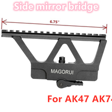 Magorui Quick Detach AK Side Rail Scope Mount Picatinny Base For AK47 AK74