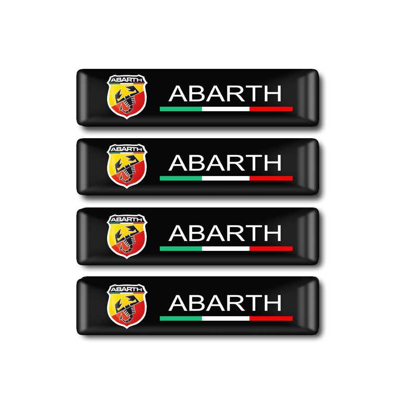 1 セット人格ステッカー車ユニバーサルステッカー粘着ラベル無料ステッカー車モデル車の装飾ステッカー Abarth 用フィアット 500