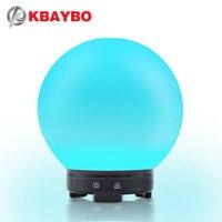 Kbaybo 300ml aroma difusor usb elétrica aromaterapia umidificador de óleo essencial com 7 cores luzes led casa suprimentos de escritório