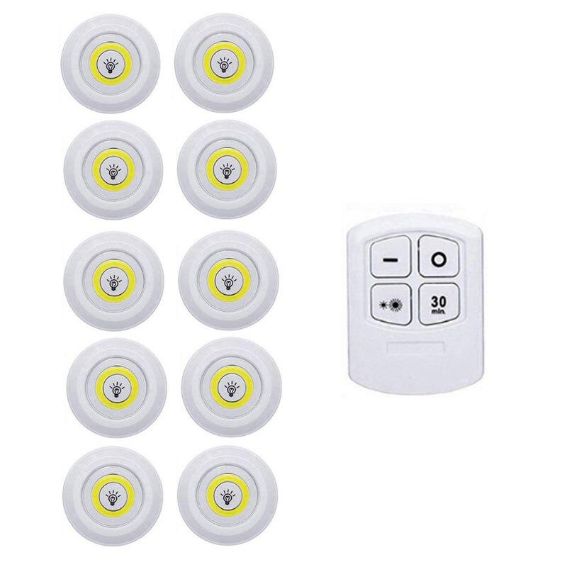 1 Remote 10 Lamp