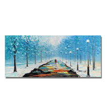 100% hand-painted Landscape Abstract Modern Oil Painting On the Canvas wall of the art wall picture for the living room decorat