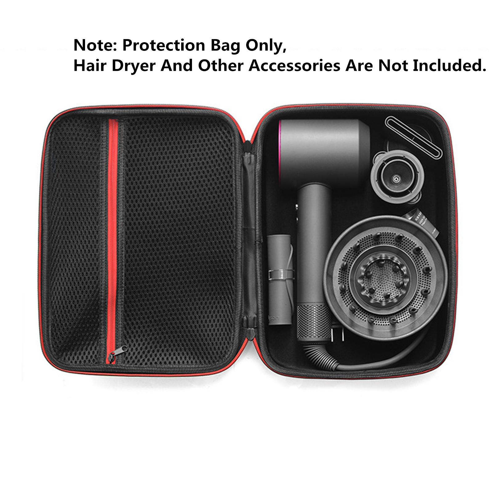 Portable Travel Carry Case Storage Case for Dyson Supersonic HD03 Hair Dryer Protection Bag|Personal Care Appliance Parts| |  - title=