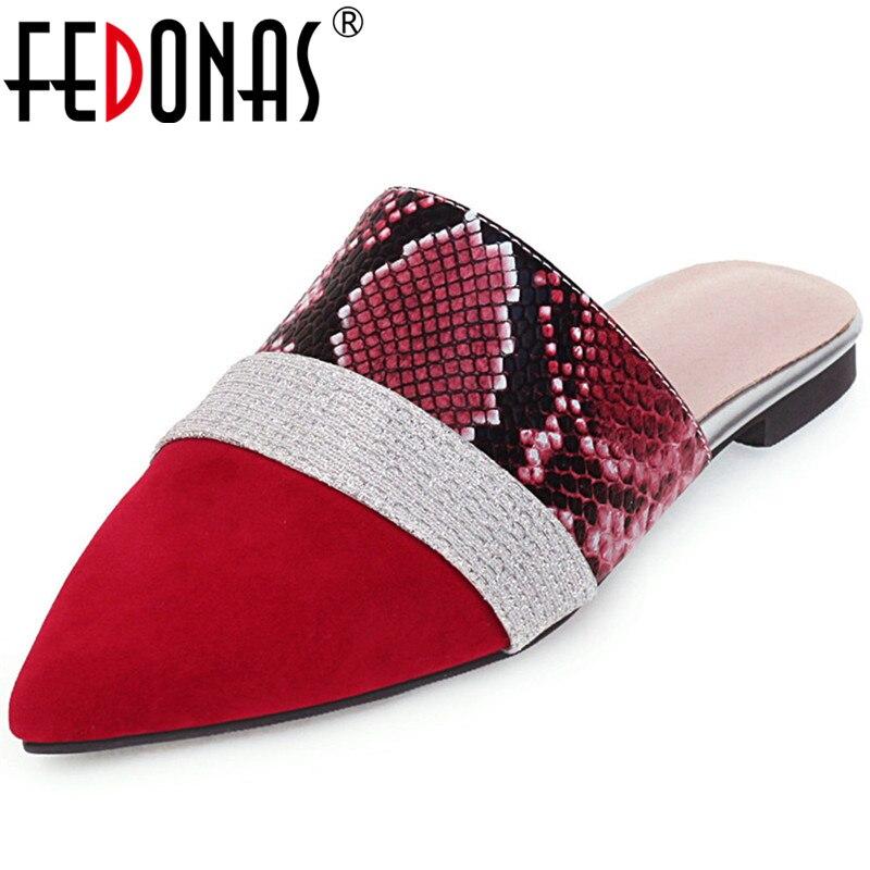 FEDONAS New Retro Color Matching Pumps Square Heels Night Club Shoes Woman Spring Summer Women Sandals 2020 Fashion Shoes Wowan