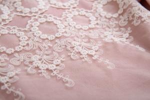 Image 4 - Pettigirl New Pink Lace Girls Dress With Headband Princess Dress Boutique Girls Party Dress Autumn Children Clothing