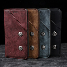 Magnes etui flip wallet książki etui na telefon PU skórzany pokrowiec na dla Huawei Honor 9X Premium Honor9X 9 X STK LX1 Global 64/128 GB