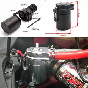 Image 5 - Depósito Universal de aluminio para tanque de aceite + filtro de respiración Color: negro, rojo, azul, dorado, PLATA VERDE, Morado, EP JYH08