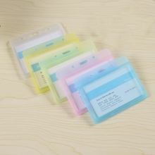 Plasticcard-Holder Office-Supplies Horizontal-Work for Exhibition Colorful