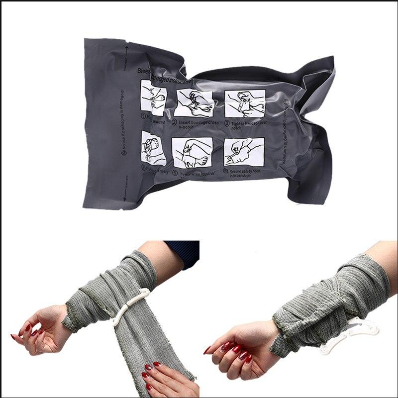 Israeli Bandage Cotton Battle Dressing Medical Trauma Bandage Survive Emergency Elastic Bandage First Aid Hemostasis Sports Tape