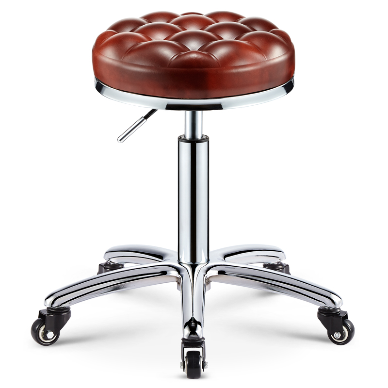 Beauty Stool Rotating Lifting Work Bench Stool Barber Shop Hairdressing Chair Pulley Nail Stool Beauty Shop Dedicated