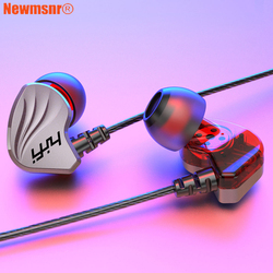 Newmsnr S200/S2000 6D Surrund Bass earphones,In-ear comfort beat drums HD Stereo headphones,for iPhone Huawei Samsung