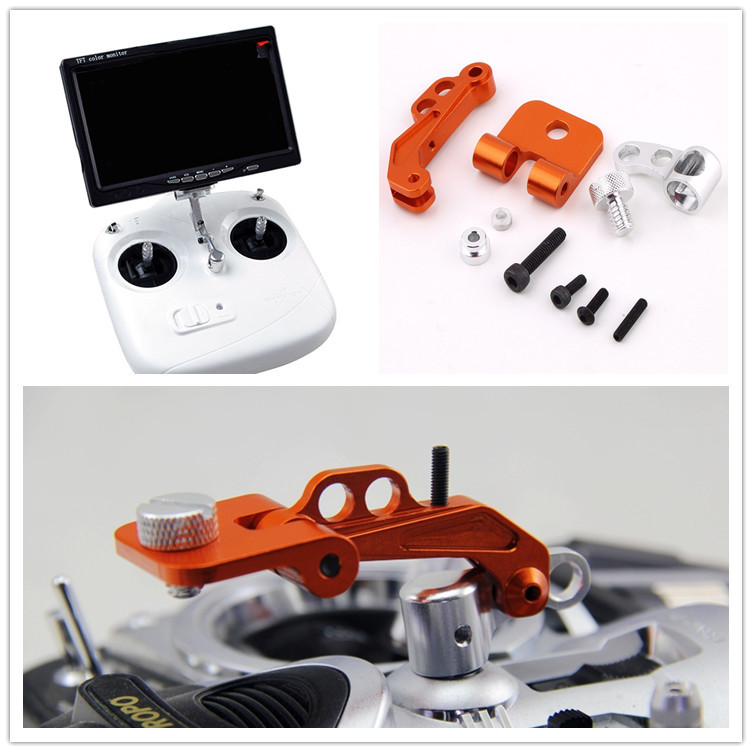 CNC Aluminium Alloy FPV Display Bracket Universal DJI Remote Control Application