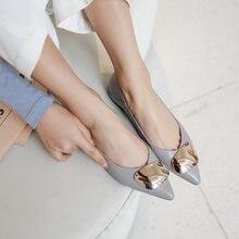 Женские туфли на низком каблуке osunlina с острым носком без
