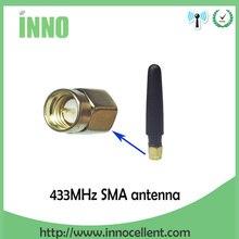 1pcs lot FREE SHIPPING 433MHz wireless serial interface module dedicated antenna glue stick стоимость
