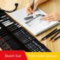 Schets Potlood Set Potlood Gordijn Set Beginner Professionele Schilderen Volledige Set Van Tools Volwassen Schets Tekening Levert