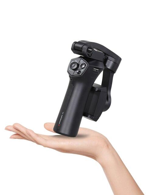 מתקפל שלושה ציר נייד טלפון מייצב Benro P1 P1S Smartphone כף יד Gimbal מייצב עבור Gopro iPhone Huawei XiaoMi