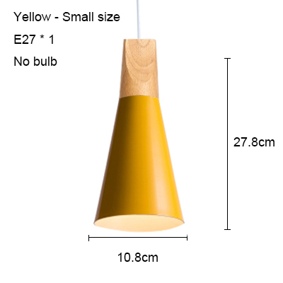 Yellow 108mm no bulb