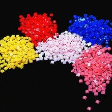 CraftArtGo алмазная живопись квадратные сверла 447 Цвет в случае отсутствия 5D DIY бусины аксессуары Diamond резервного копирования принадлежности, до...