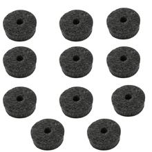 Drum-Kit Part-Accessories Replacement-Parts Cymbal-Felt-Pads Percussion 10pcs Felt-Protection