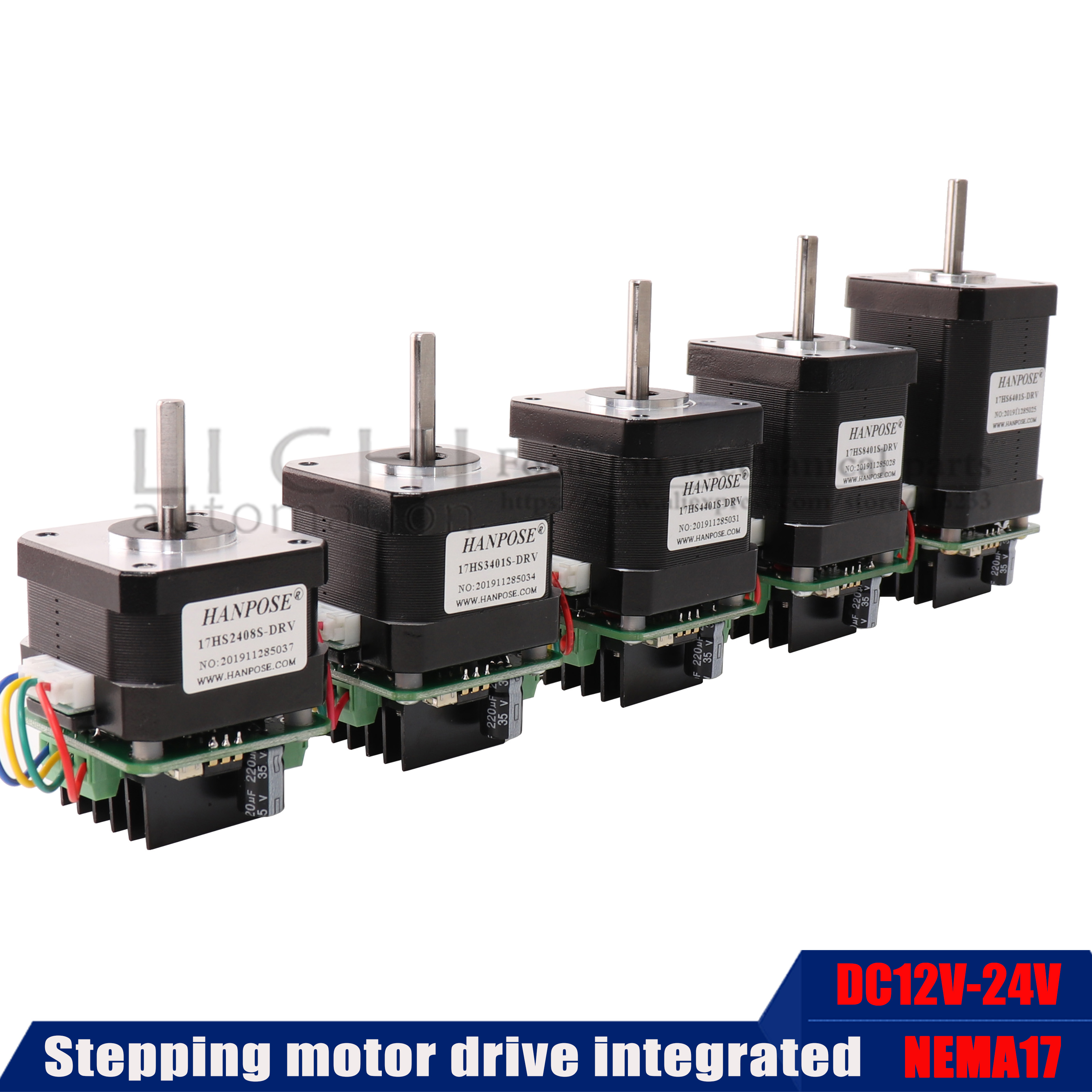 New  NEMA17 Stepper Motor four wire stepping motor with micro back driver 1.7a 17hs6401 8401